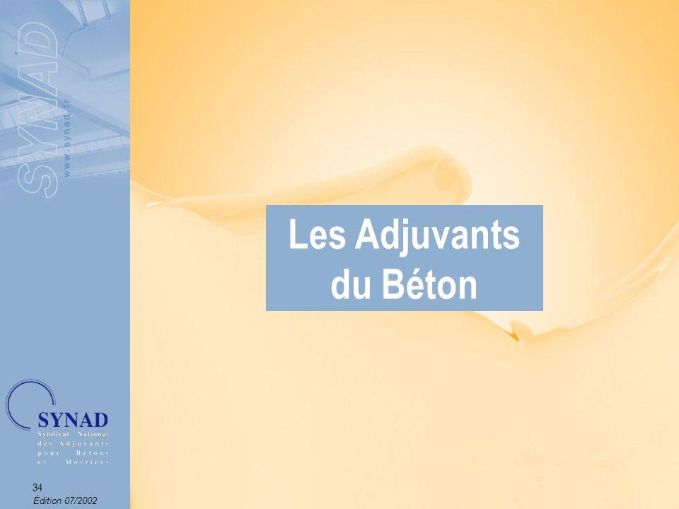 Les Adjuvants du Béton Les Adjuvants du Béton Les Adjuvants du Béton