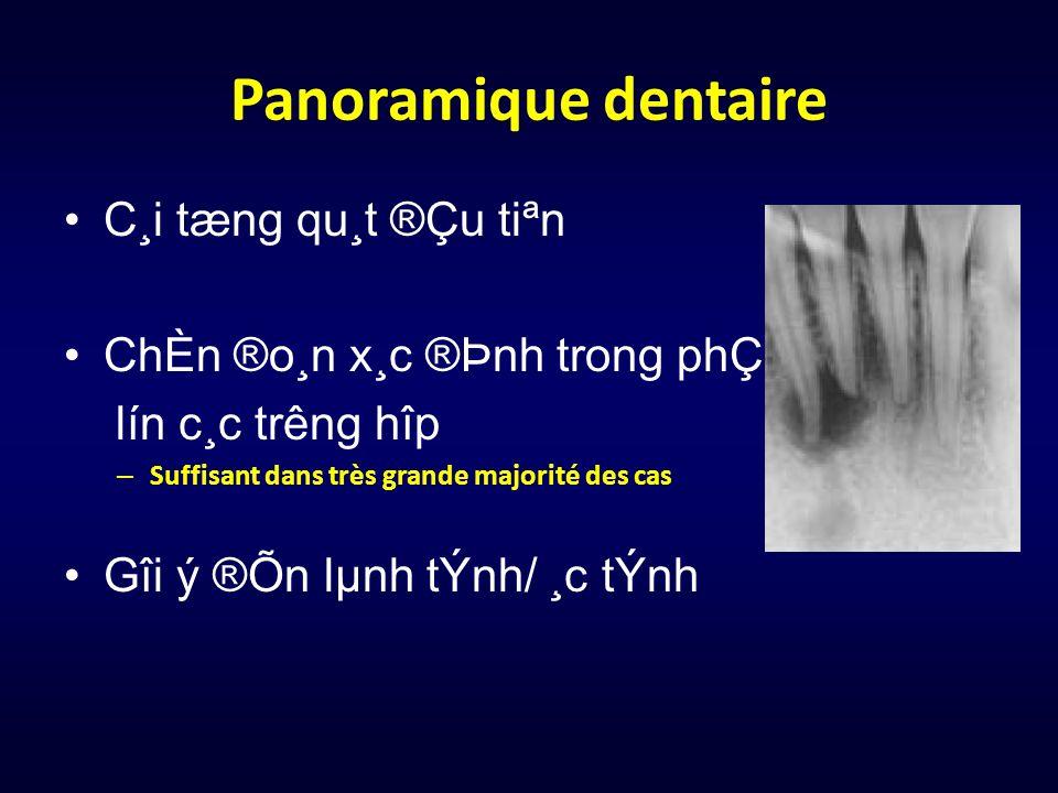 Panoramique dentaire C¸i tæng qu¸t ®Çu tiªn