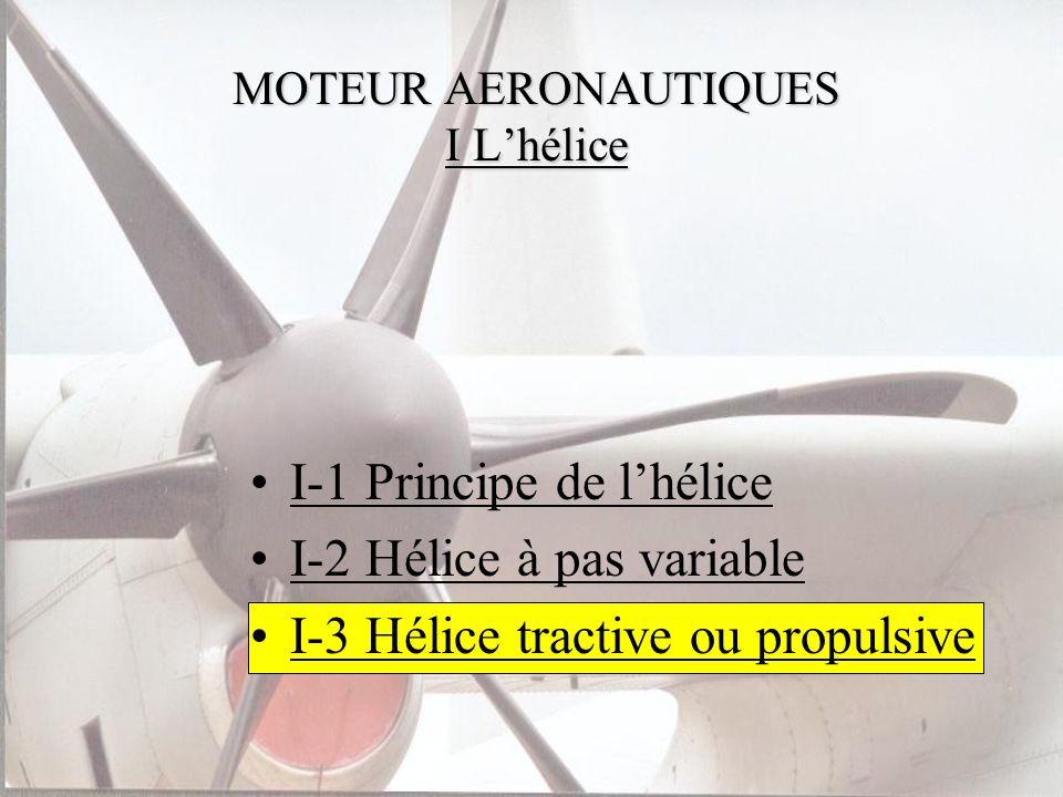MOTEUR AERONAUTIQUES I L'hélice