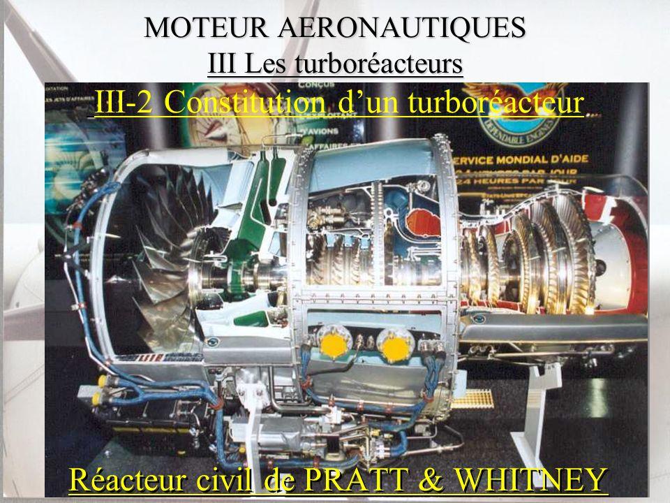 Réacteur civil de PRATT & WHITNEY