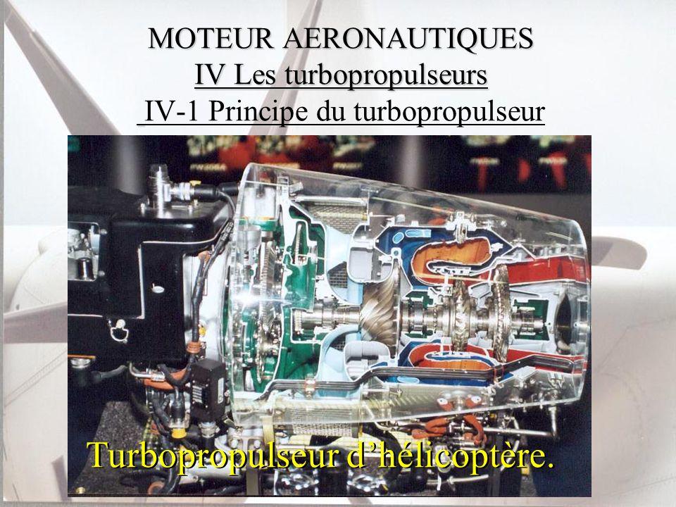 Turbopropulseur d'hélicoptère.