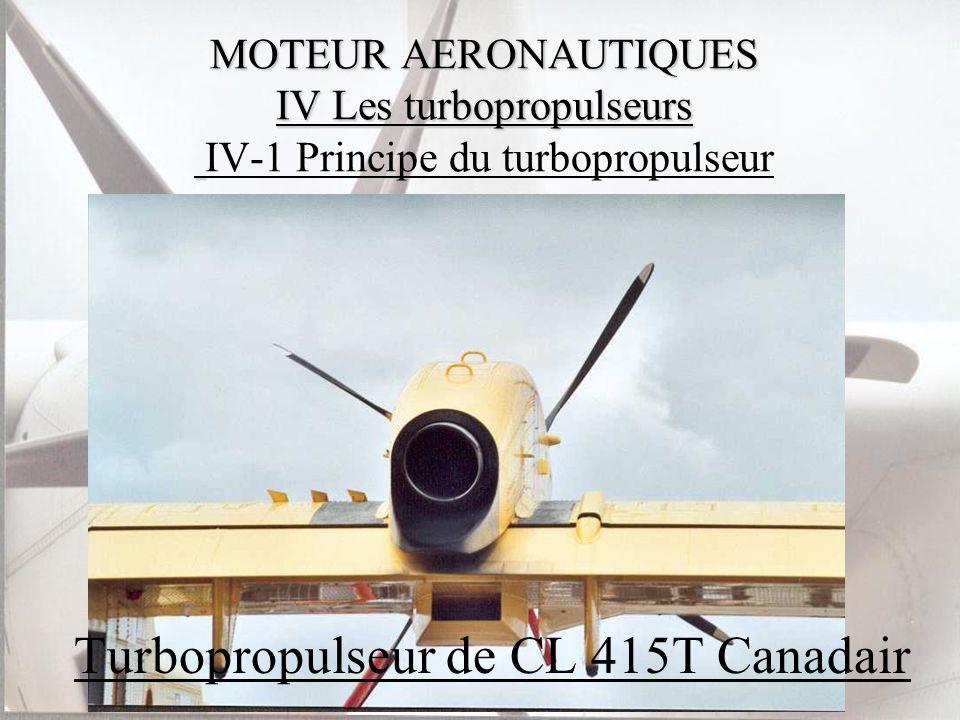 Turbopropulseur de CL 415T Canadair