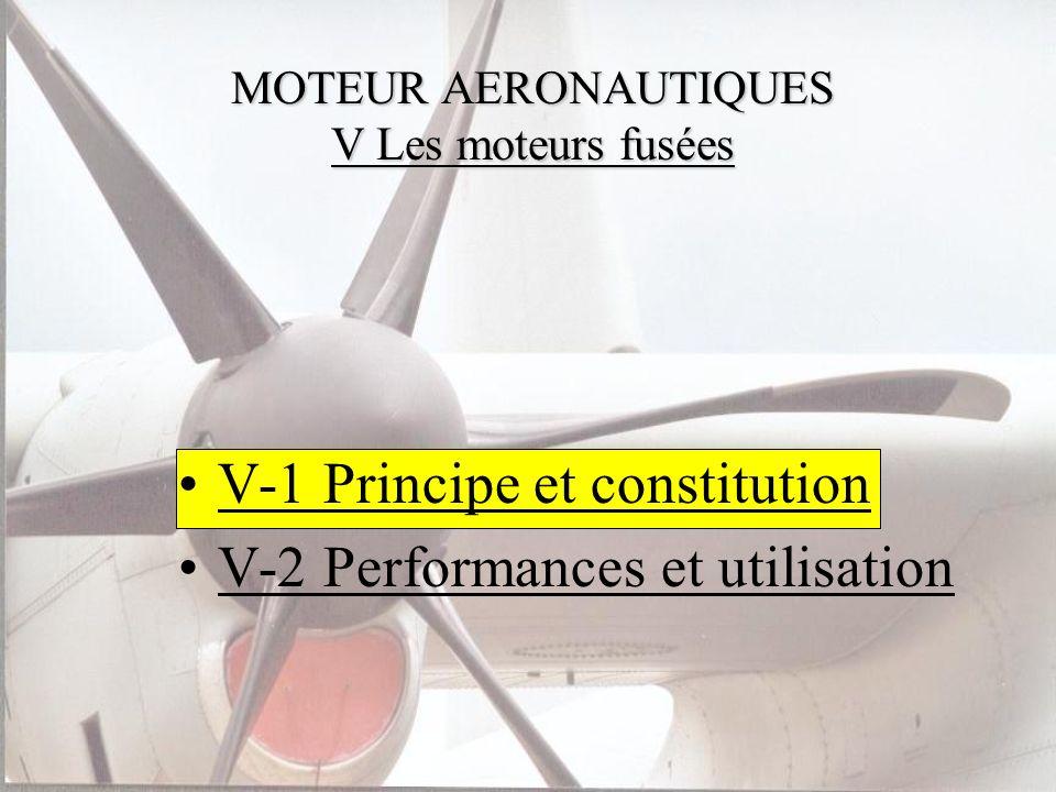 MOTEUR AERONAUTIQUES V Les moteurs fusées