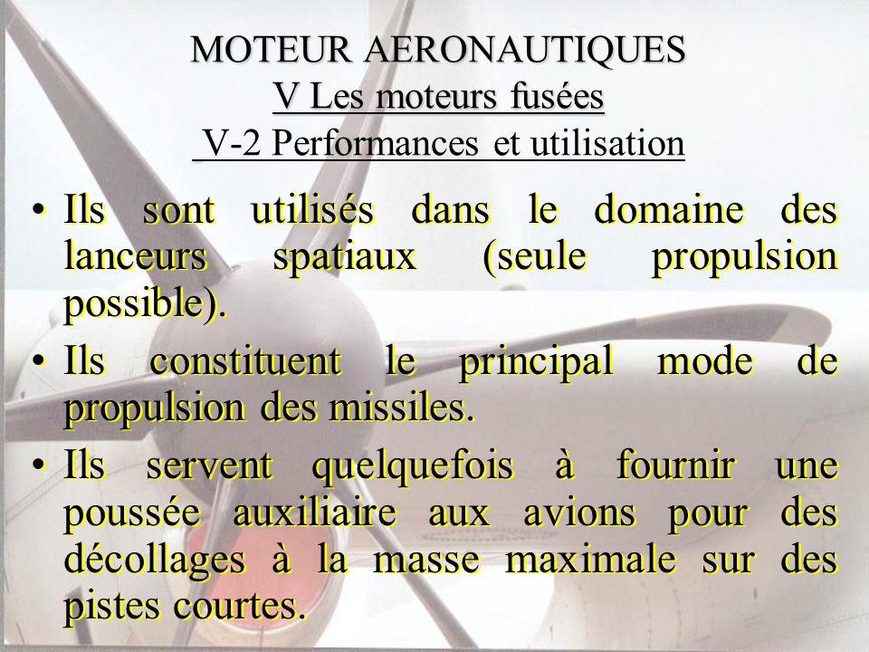 Ils constituent le principal mode de propulsion des missiles.