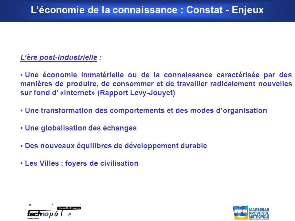 L'économie de la connaissance : Constat - Enjeux