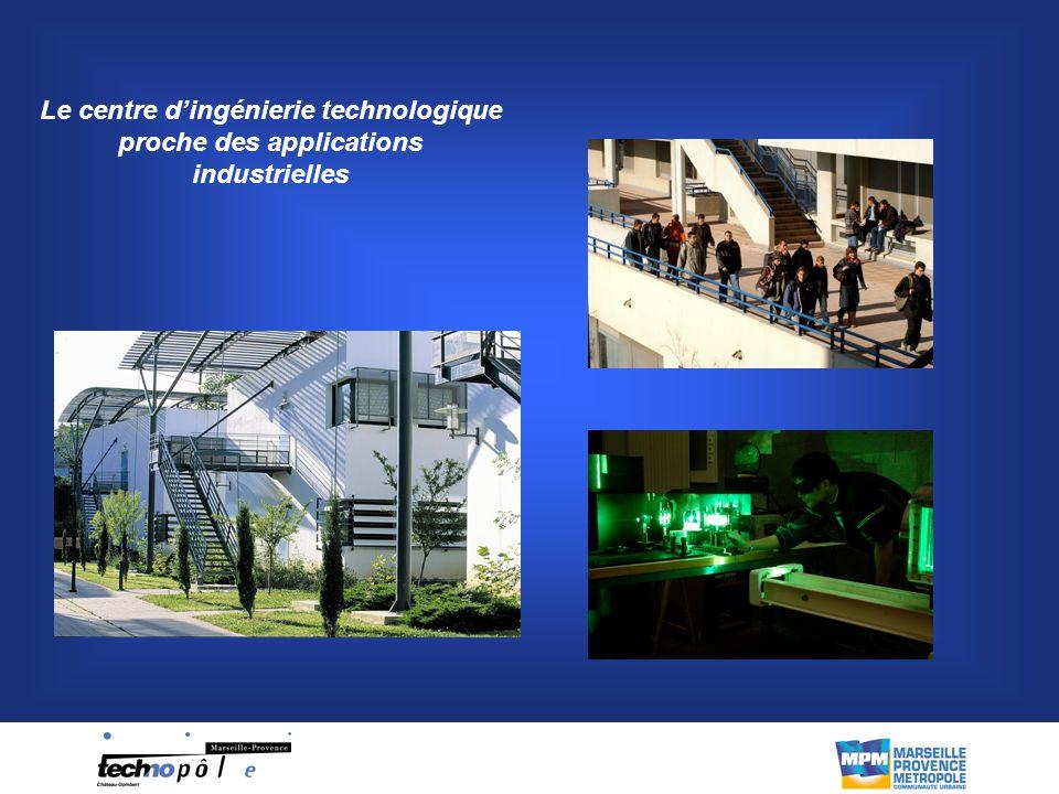 Le centre d'ingénierie technologique proche des applications industrielles