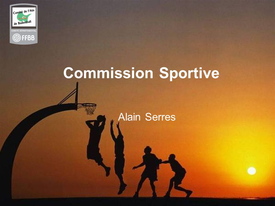 Commission Sportive Alain Serres