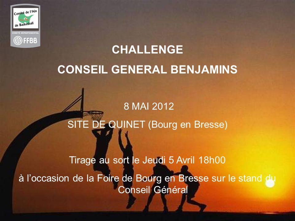 CONSEIL GENERAL BENJAMINS