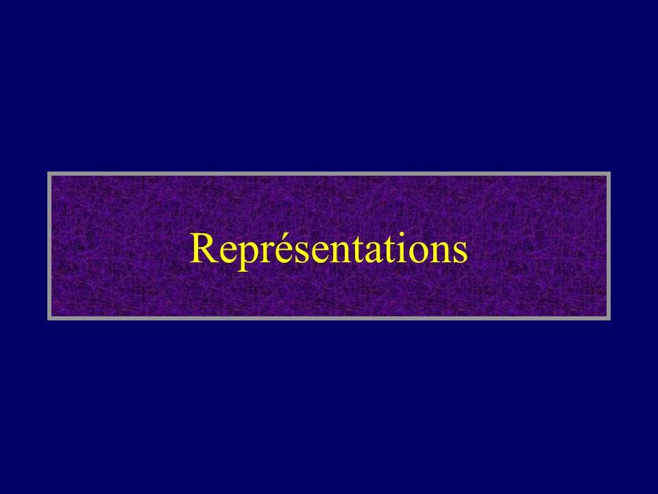 Représentations Commençons par celle relative aux représentations.