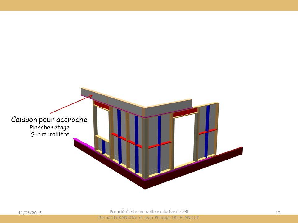 Caisson pour accroche Plancher étage Sur murallière 11/06/2013
