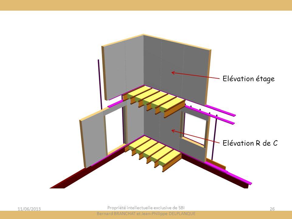 Elévation étage Elévation R de C 11/06/2013