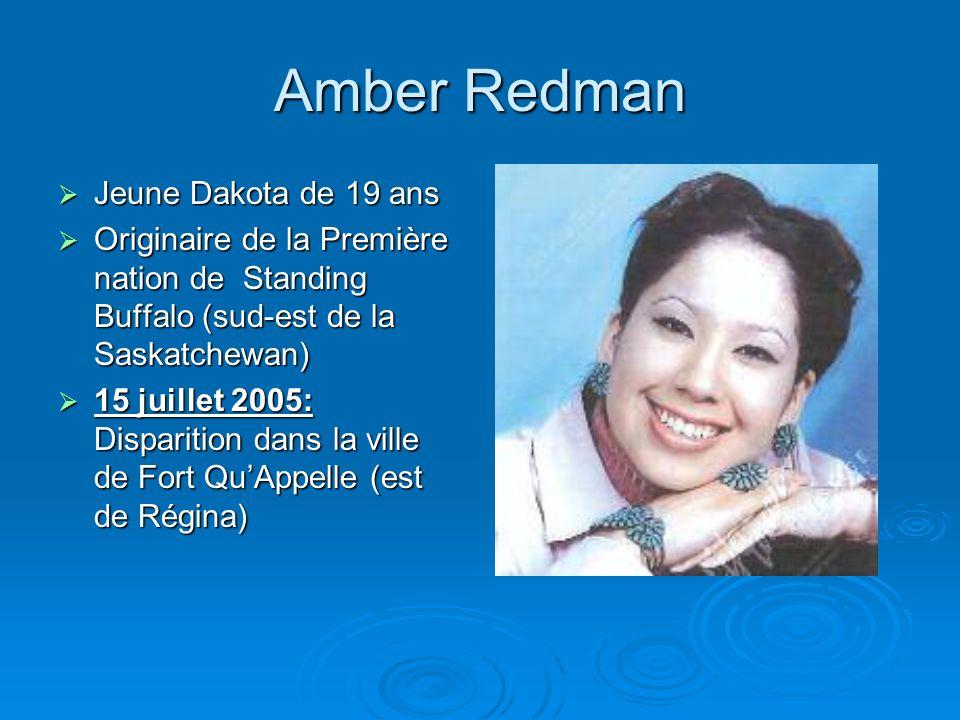 Amber Redman Jeune Dakota de 19 ans