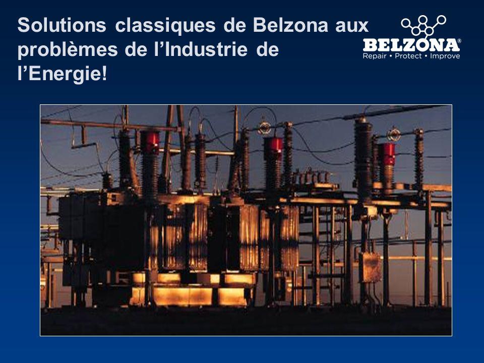 Solutions classiques de Belzona aux problèmes de l'Industrie de