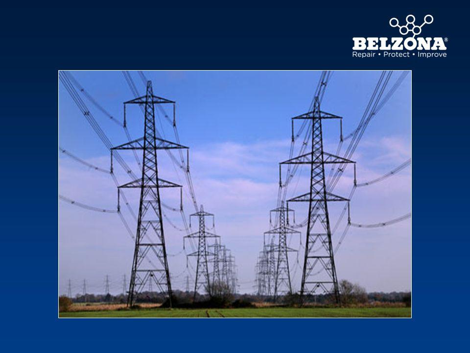 Des pylônes. Pourquoi, parce que quand l'électricité a été générée, elle doit être transportée à l'endroit où elle est nécessaire.