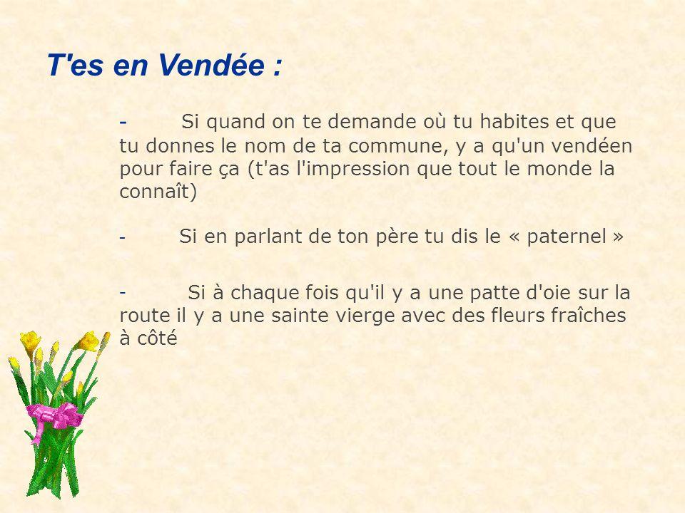 T es en Vendée :