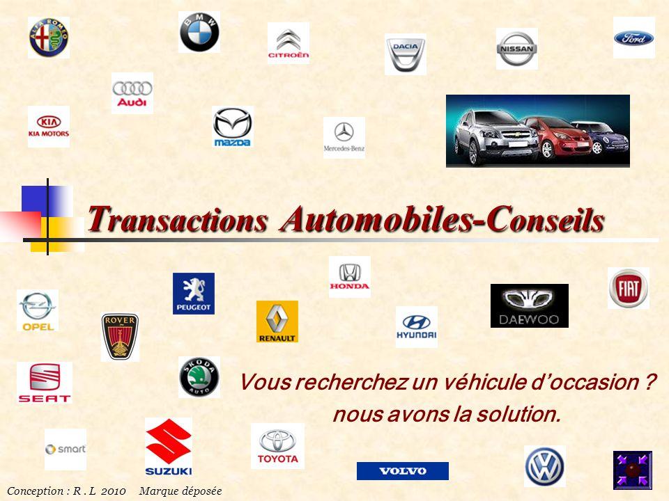 Transactions Automobiles-Conseils