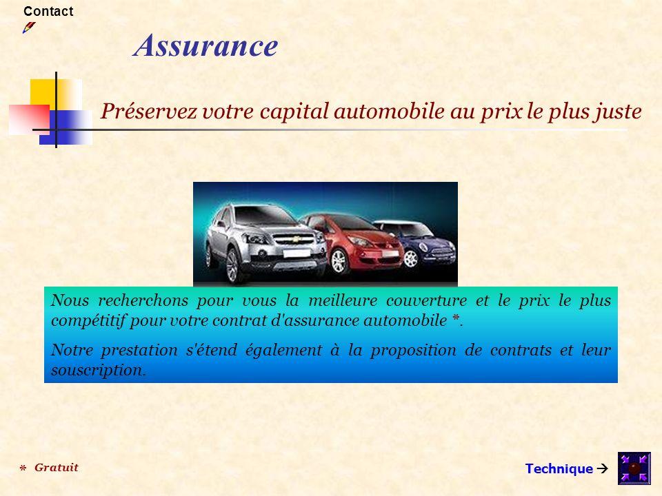 Assurance Préservez votre capital automobile au prix le plus juste