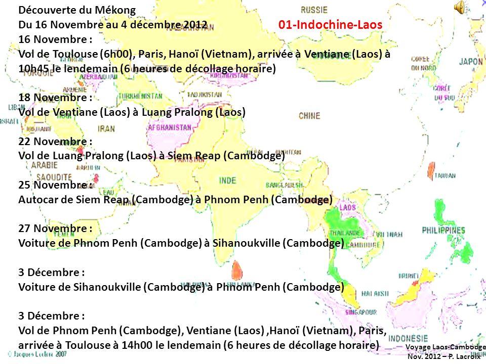 01-Indochine-Laos Découverte du Mékong