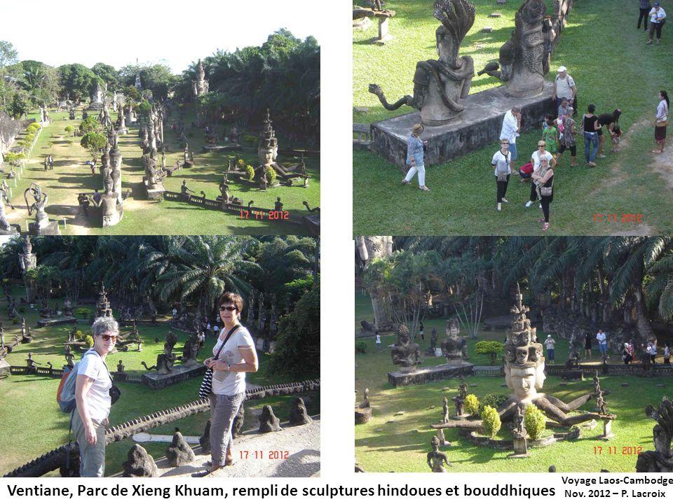 Voyage Laos-Cambodge Nov. 2012 – P. Lacroix.