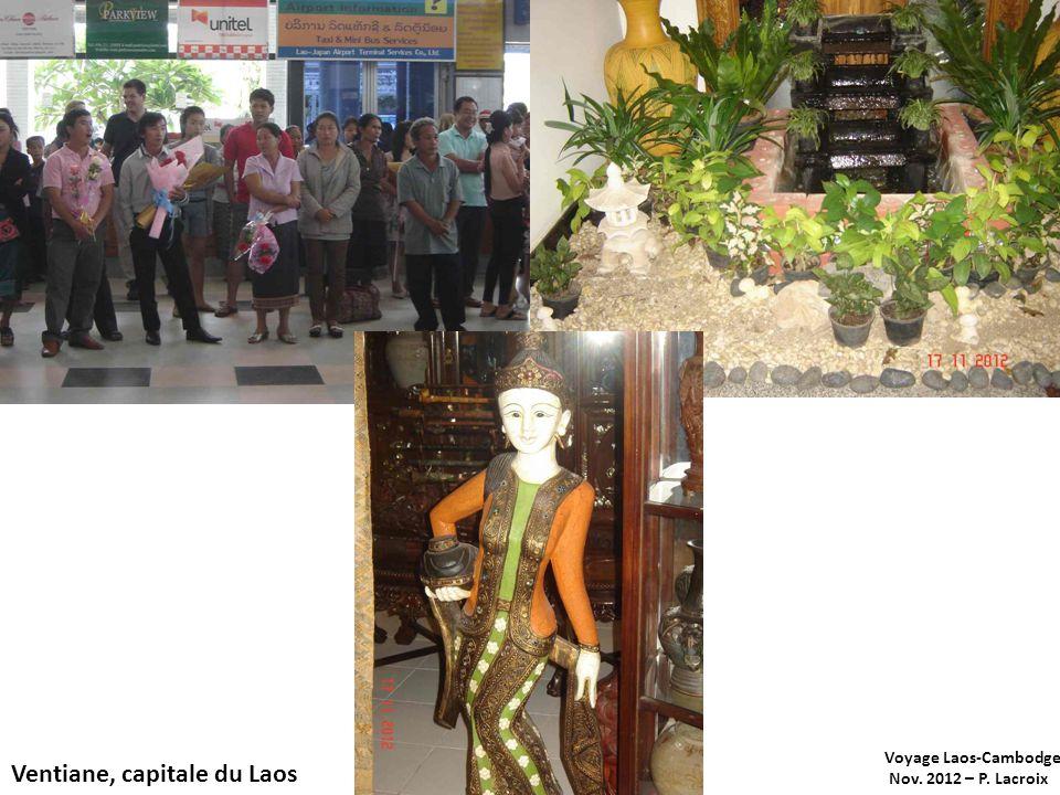 Ventiane, capitale du Laos