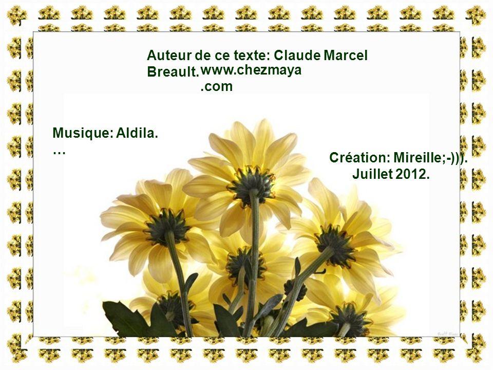 Auteur de ce texte: Claude Marcel Breault.