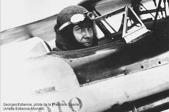Georges Estienne, pilote de la Première Guerre