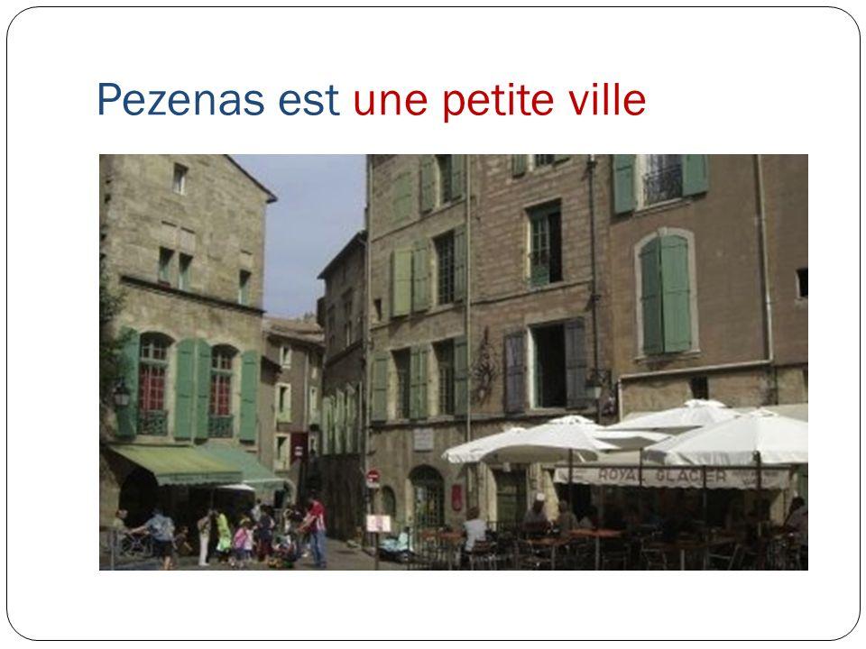 Pezenas est une petite ville