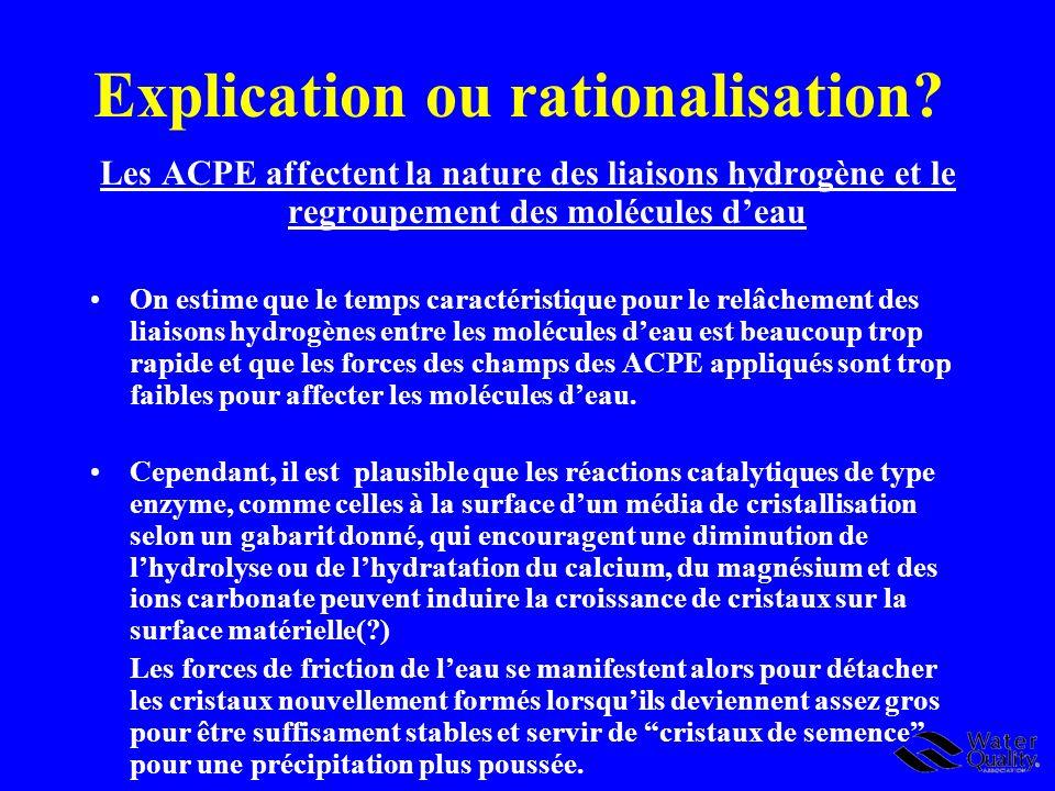 Explication ou rationalisation