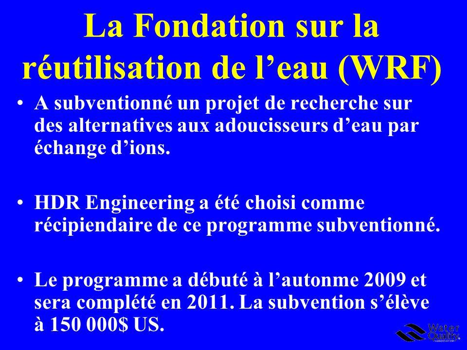 La Fondation sur la réutilisation de l'eau (WRF)