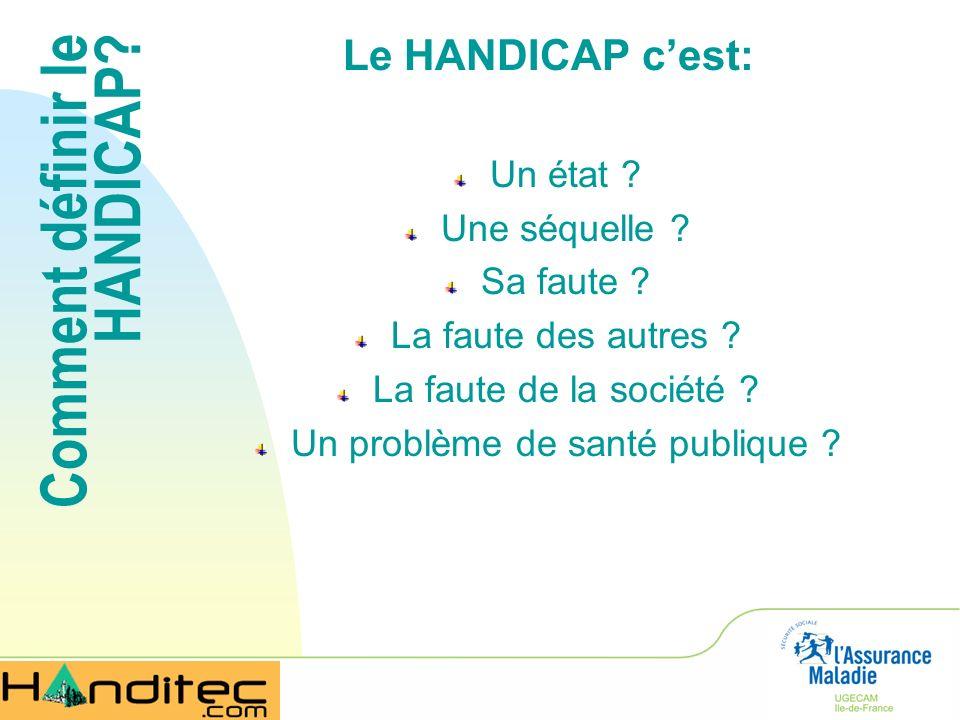 Comment définir le HANDICAP