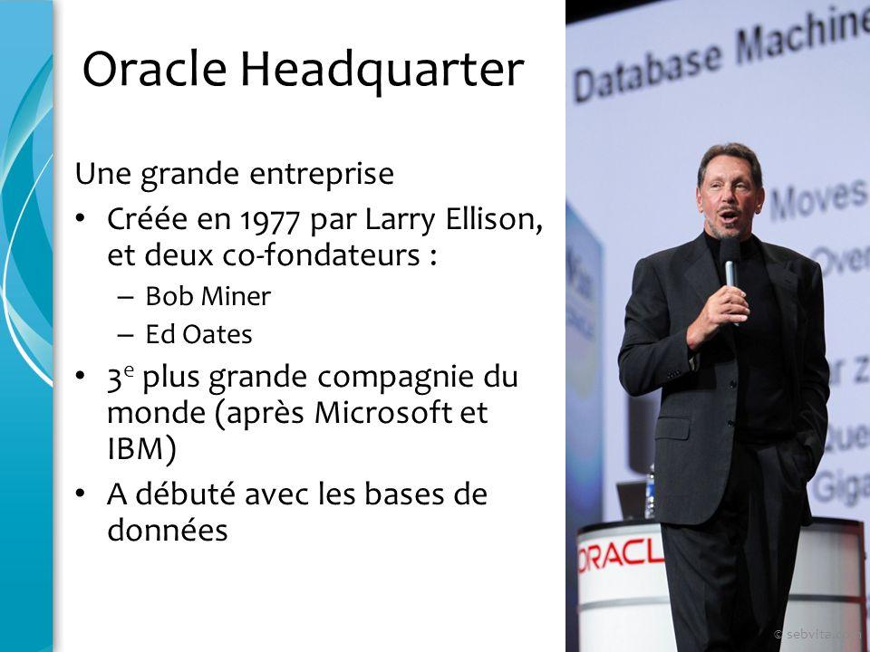 Oracle Headquarter Une grande entreprise