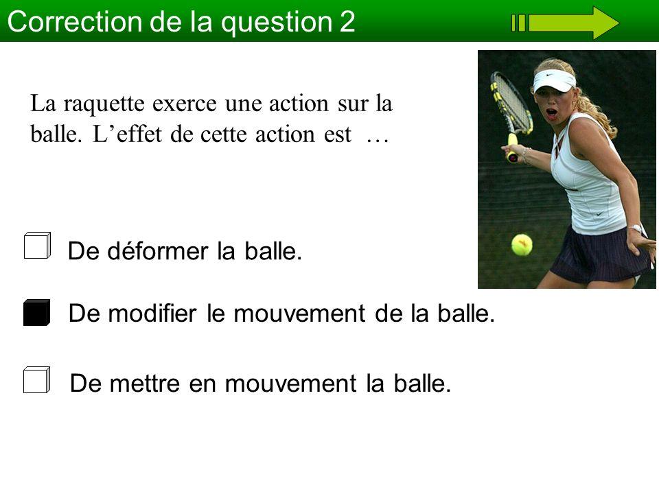 Correction de la question 2