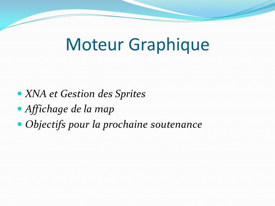 Moteur Graphique XNA et Gestion des Sprites Affichage de la map