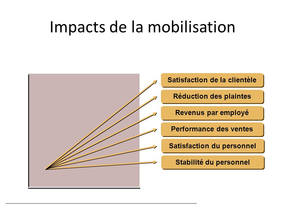 Impacts de la mobilisation