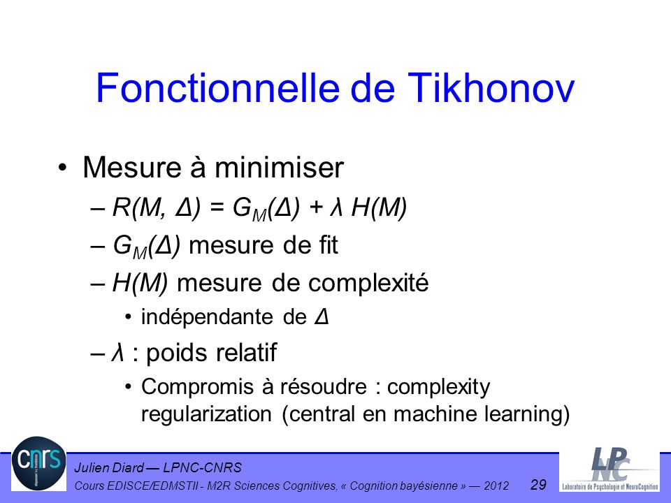 Fonctionnelle de Tikhonov