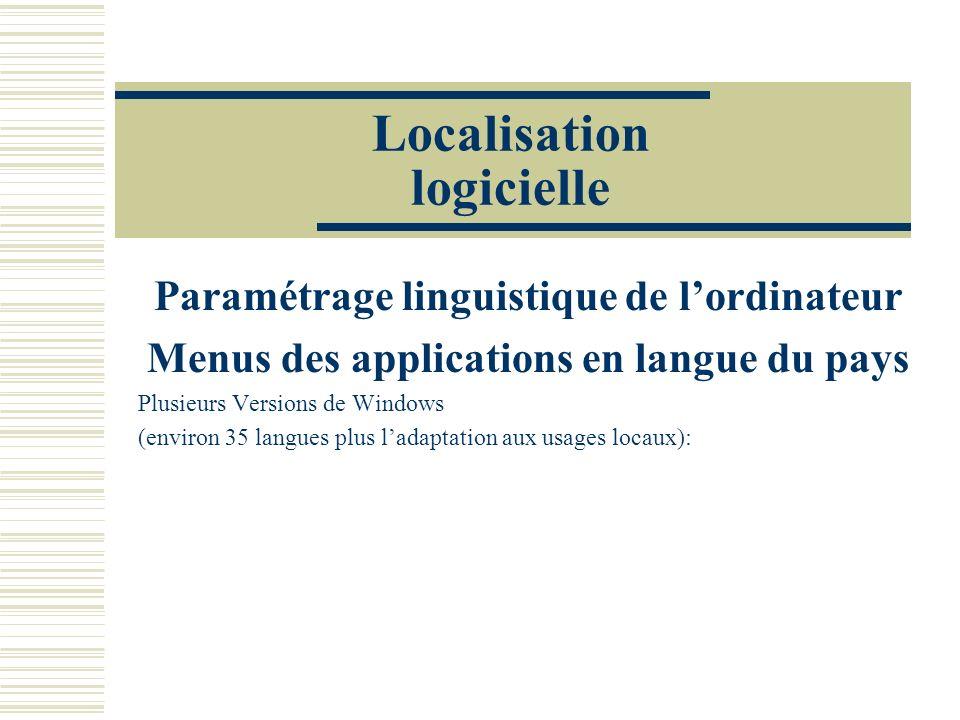 Localisation logicielle