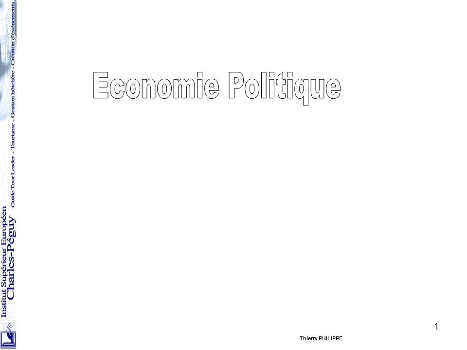 Economie Politique Thierry PHILIPPE