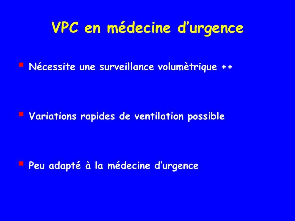 VPC en médecine d'urgence