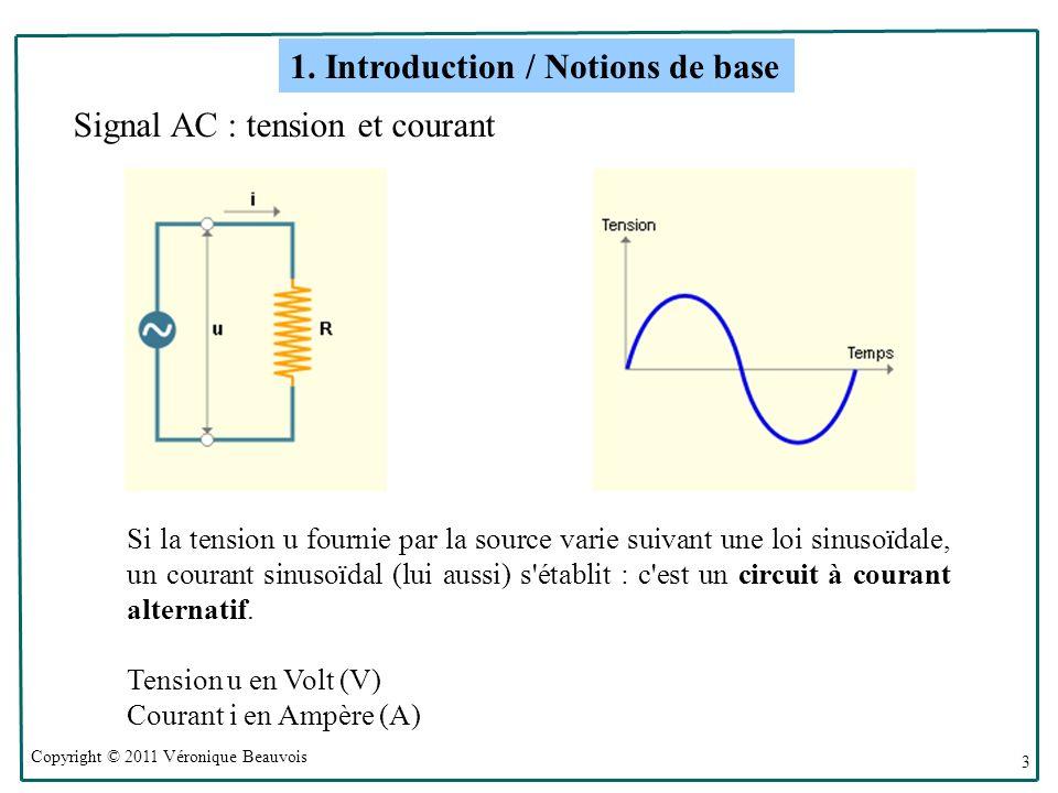 1. Introduction / Notions de base