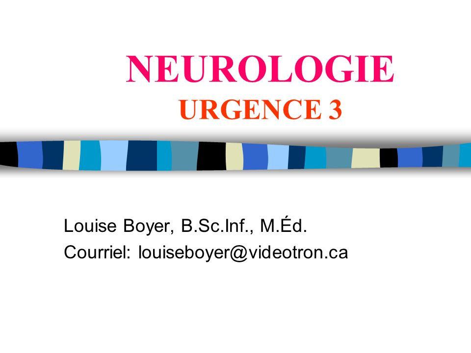 Louise Boyer, B.Sc.Inf., M.Éd. Courriel: louiseboyer@videotron.ca
