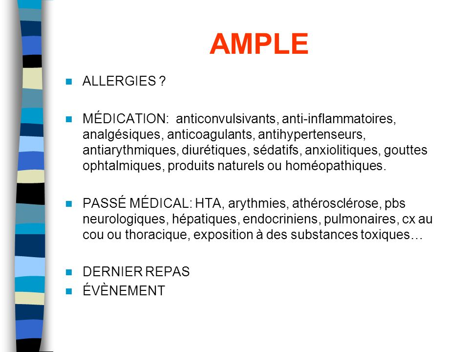 AMPLE ALLERGIES