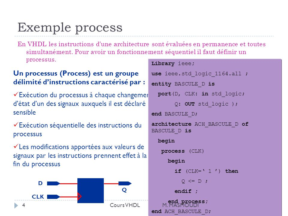 Exemple process