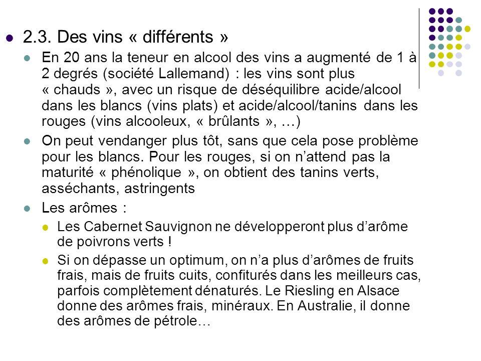 2.3. Des vins « différents »
