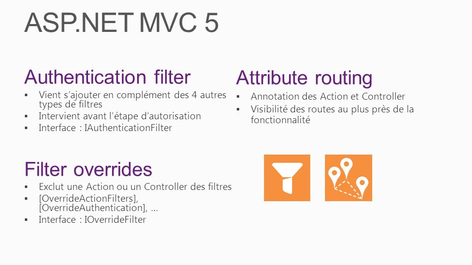 ASP.NET MVC 5 Attribute routing Authentication filter Filter overrides