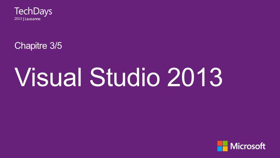 Chapitre 3/5 Visual Studio 2013