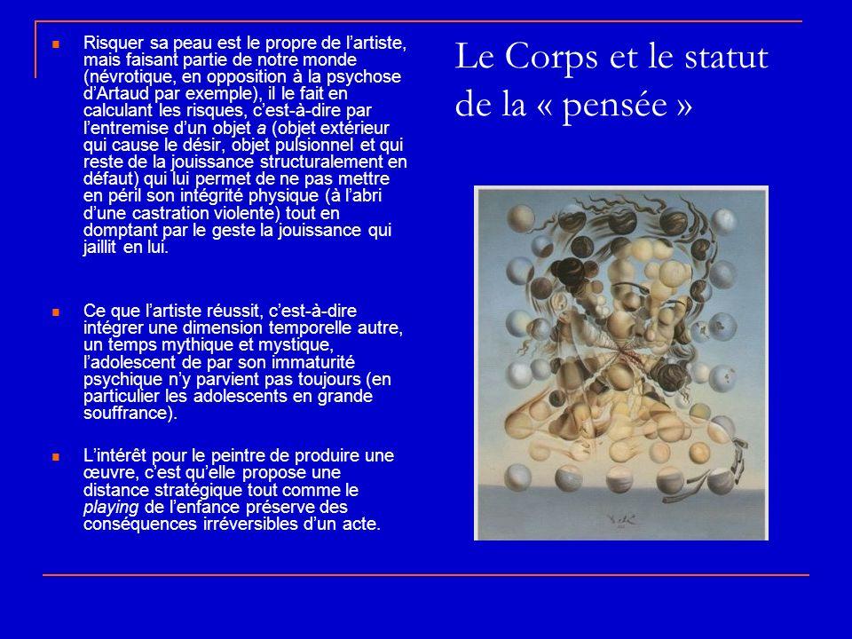 Le Corps et le statut de la « pensée »