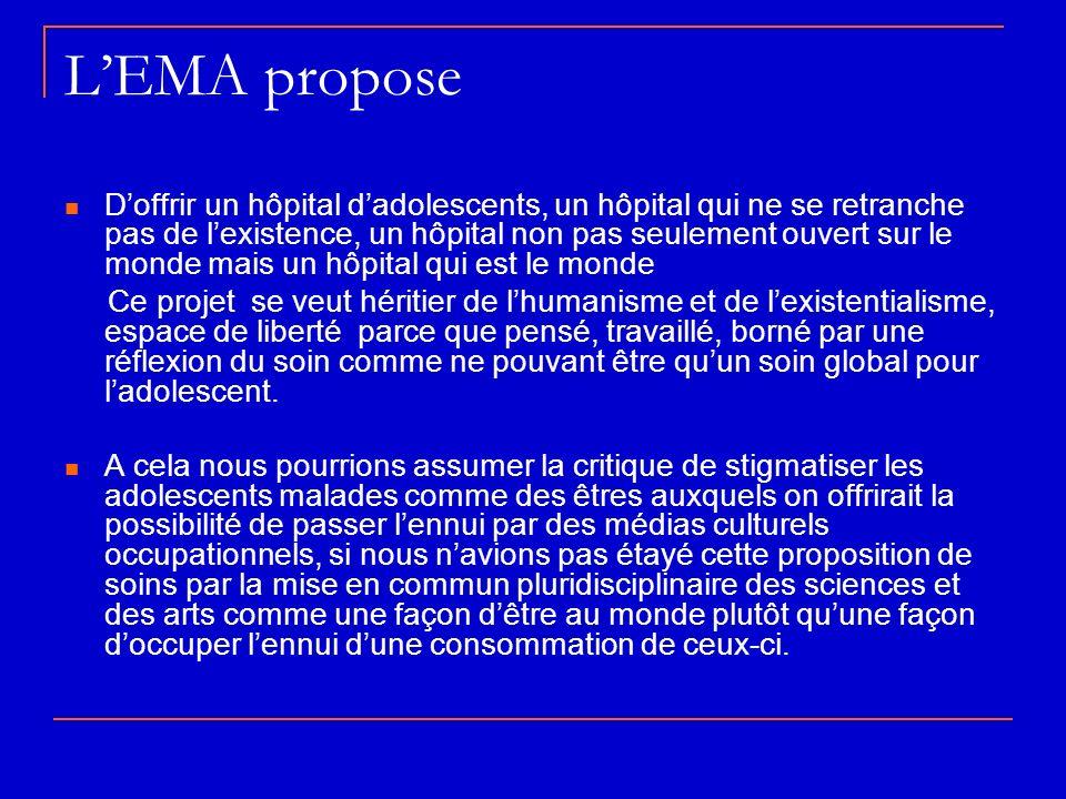 L'EMA propose