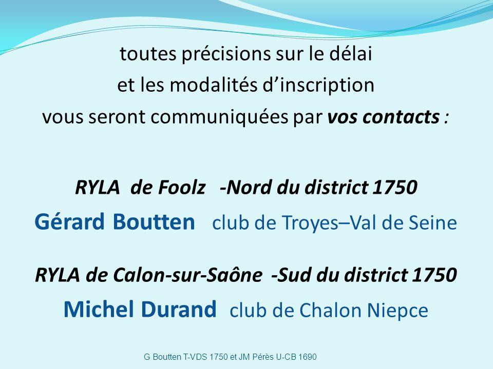 Gérard Boutten club de Troyes–Val de Seine