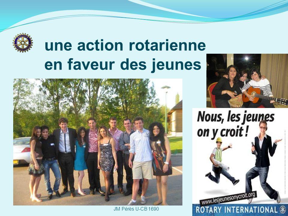 une action rotarienne en faveur des jeunes JM Pérès U-CB 1690