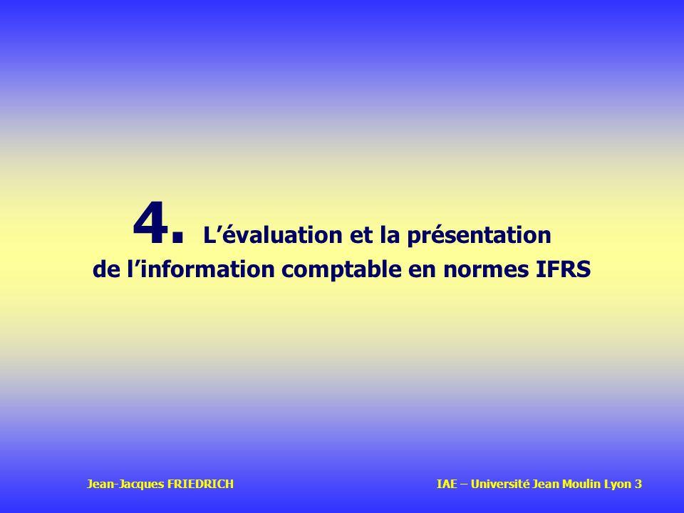 4. L'évaluation et la présentation